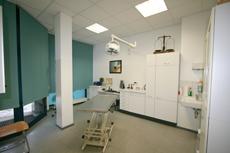 Behandlungsraum der Tierarztpraxis Dr. Jörg Bauer in Berlin